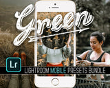 Green Lightroom Mobile Presets BUndle