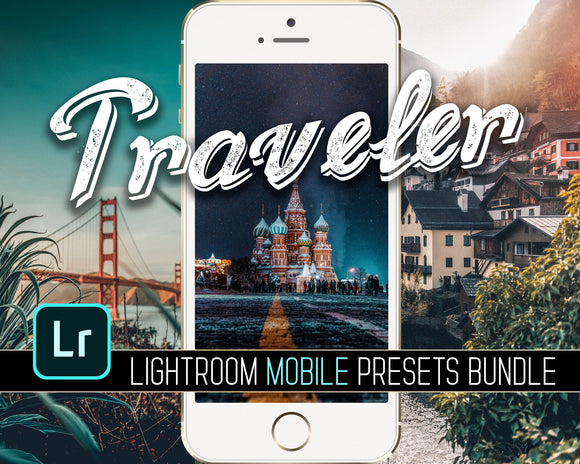 Traveller Lightroom Mobile Presets Bundle