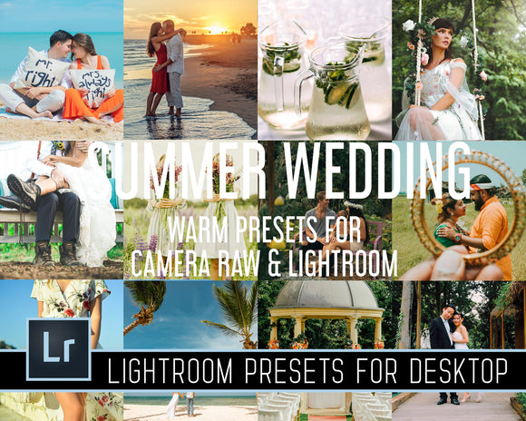 Summer Wedding Warm Presets For Camera Raw And Lightroom