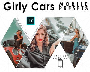 Girly car mobile presets