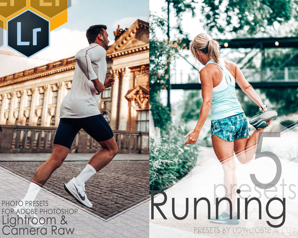 Running 5 Presets Lightroom Desktop Camera Raw