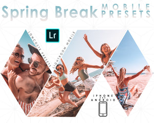 Spring Break Lightroom Mobile Preset