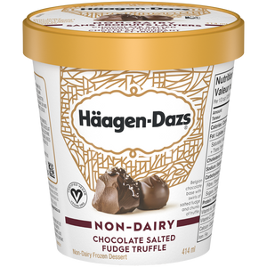 Häagen-Dazs Non-Dairy Chocolate Salted Fudge Truffle (414ml)