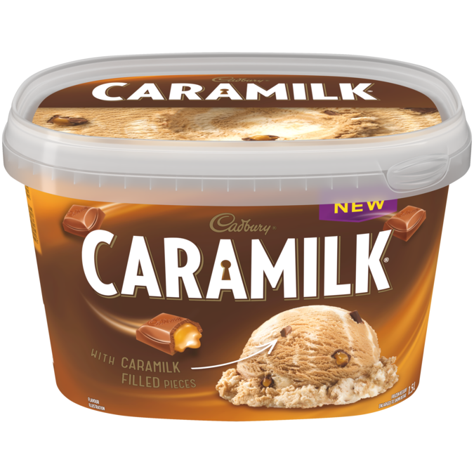 Caramilk Ice Cream (1.5L)