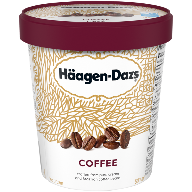 Häagen-Dazs Coffee Ice Cream (500ml)