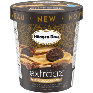Häagen-Dazs Exträaz Espresso Chocolate Cookie Ice Cream (500ml)