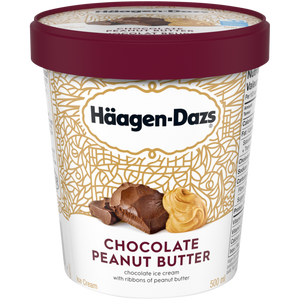 Häagen-Dazs Chocolate Peanut Butter Ice Cream (500ml)