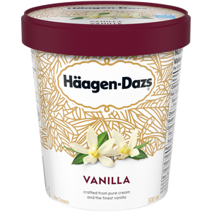 Häagen-Dazs Vanilla Ice Cream (500ml)