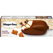 Load image into Gallery viewer, Häagen-Dazs Salted Caramel Single Full Sized Individually Boxed Bar (2)