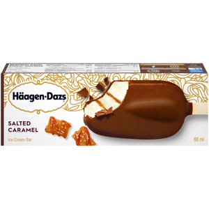Häagen-Dazs Salted Caramel Single Full Sized Individually Boxed Bar (2)