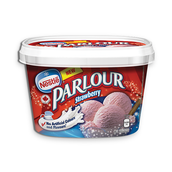 Parlour Strawberry Ice Cream (1.5L)