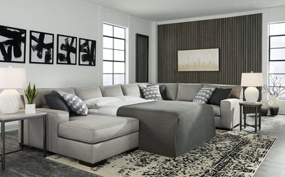 Marsing Nuvella Benchcraft 4-Piece Sleeper Sectional with Chaise