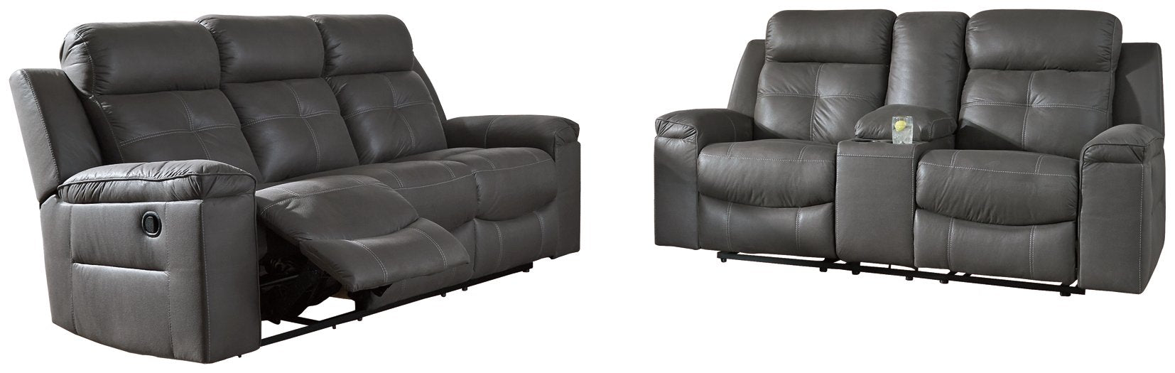 Jesolo Signature Design Family Spaces 2-Piece Living Room Set