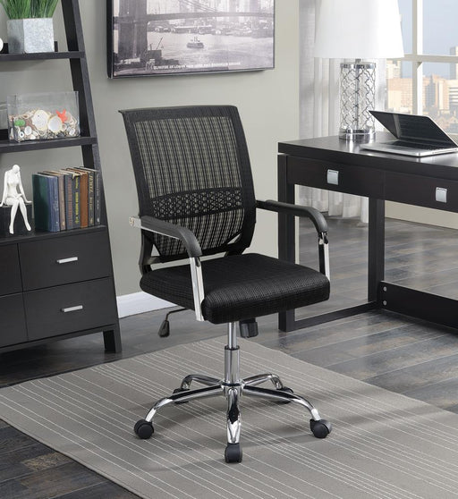 G881055 Contemporary Black Mesh Back Office Chair image