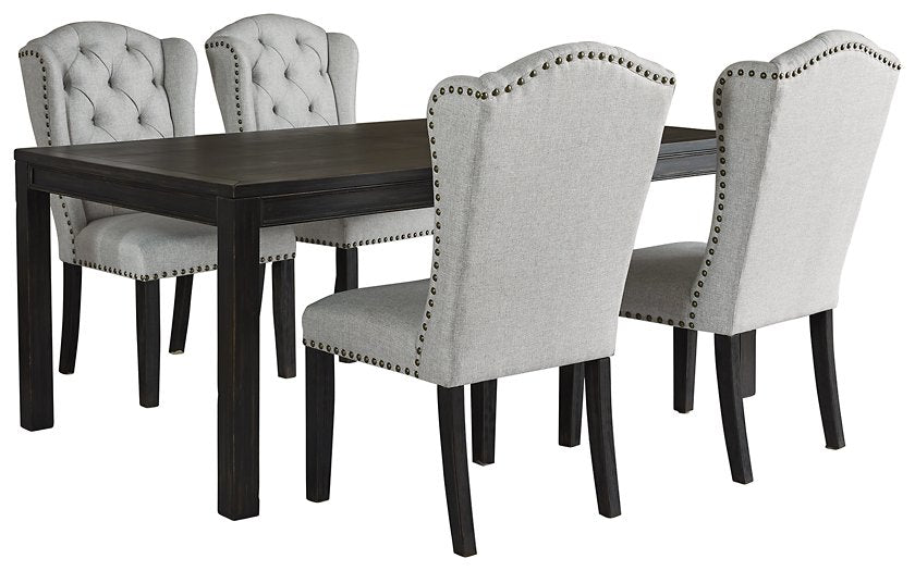 Jeanette Ashley 5-Piece Dining Room Set