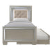 Platinum Youth Twin Platform Bed w/ Trundle image
