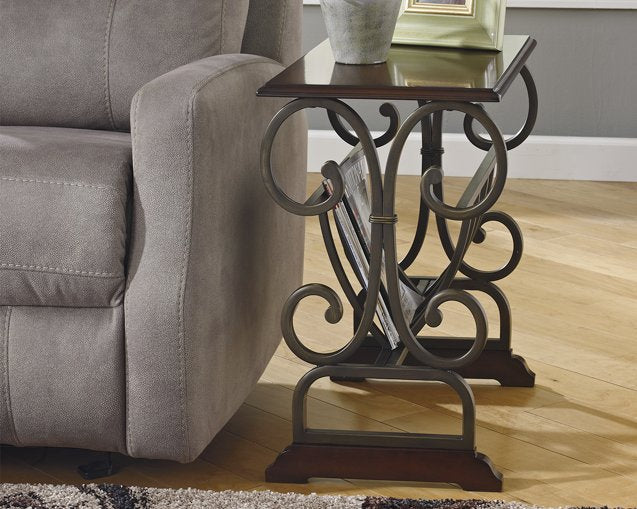 Braunsen Signature Design by Ashley End Table Chair Side