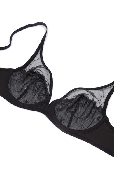 "Simone Perele ""Delice"" Embroidered Net Bra"