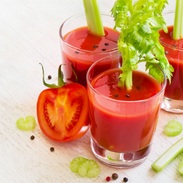 Soupe façon Bloody Mary