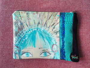 "Bolso modelo JEWEL OF JOY ""Blue eyes, sigue tu propio camino n.5"""