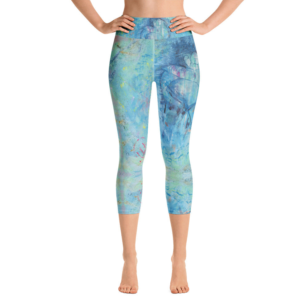 Leggings capri de yoga