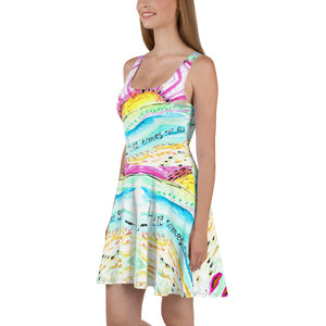 "Vestido skater ""Here comes the sun"""