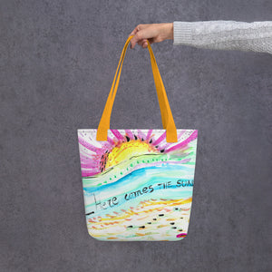 "Bolso Shopper ""Here comes the sun"""