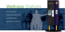Load image into Gallery viewer, Custom Branded Wellness Stations. - 6' Model