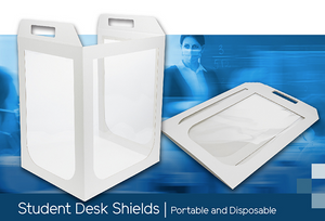 IO Student Desk Shield