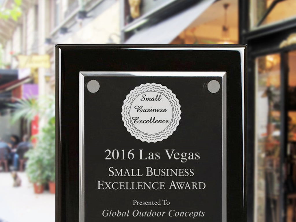 MIRAGE VISION OUTDOOR TV SELECTED FOR 2016 LAS VEGAS SMALL BUSINESS EXCELLENCE AWARD