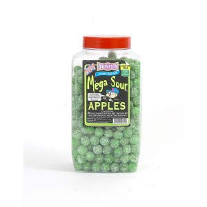 British Sweets - Barnetts Mega Sour Apple