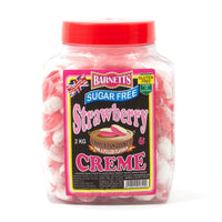 British Sweets - Barnetts Strawberry Cream