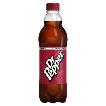 British Drinks - Dr Pepper Bottles