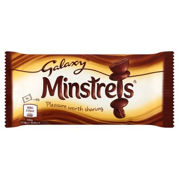 British Chocolate - Galaxy Minstrels