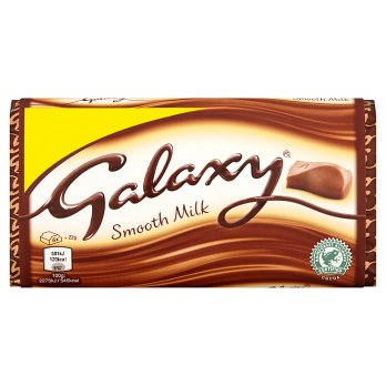 British Chocolate - Galaxy Milk Block 110g