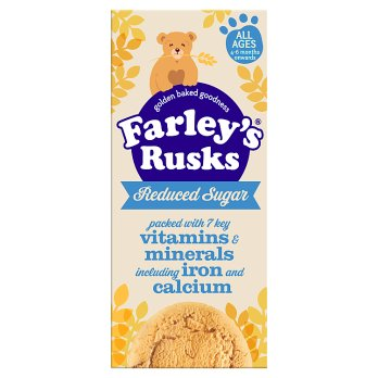 British Baby - Farley Rusk Reduced Sugar