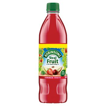 British Drinks - Robinsons Summer Fruit