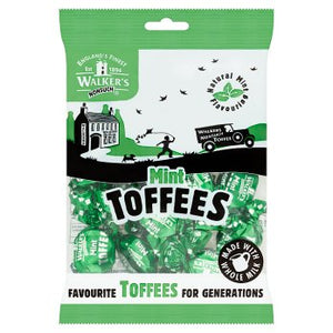 British Sweets - Mint Toffee Bags
