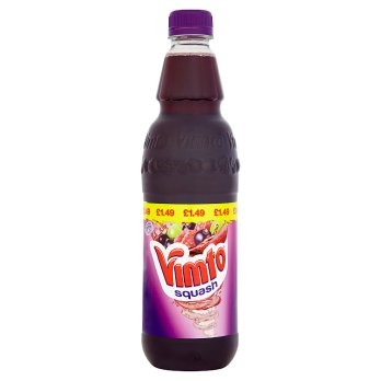 British Drinks - Vimto Squash