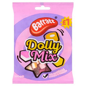 British Sweets - Barratts Dolly Mix Pouch