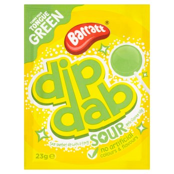 British Sweets - Barratts Sherbet Dip Dab Sour