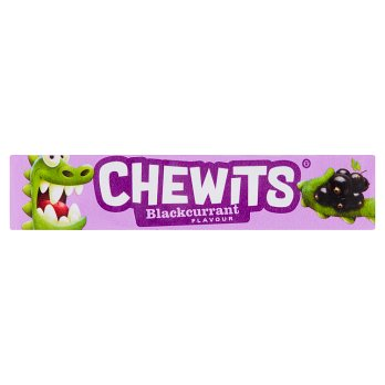 British Sweets - Chewits Blackcurrant