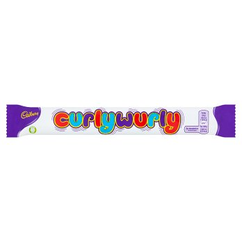 British Chocolate - Cadbury Curly Wurly