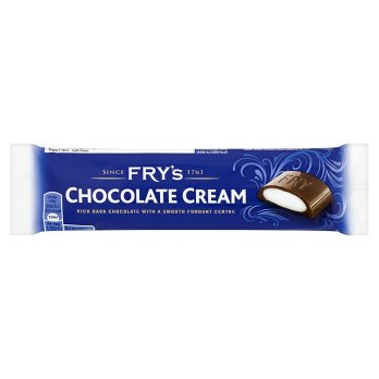 British Chocolate - Frys Chocolate Cream