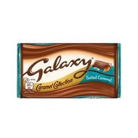 British Chocolate - Galaxy Slated Caramel Block