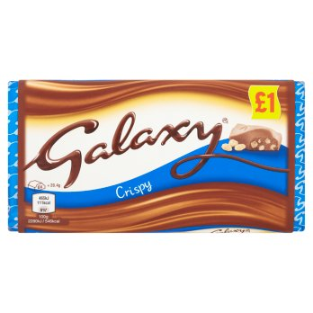 British Chocolate - Galaxy Crispy Block