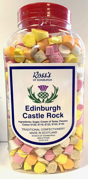 British Sweets - Gibbs Edinburgh Castle Rock