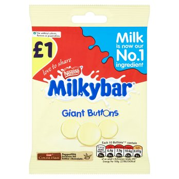 British Chocolate - Milkybar Buttons