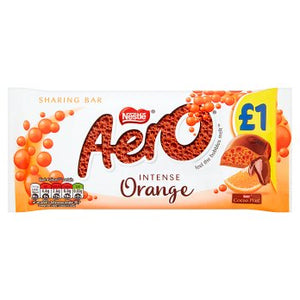 British Chocolate - Nestle Aero Orange