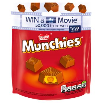 British Chocolate - Munchies Pouch